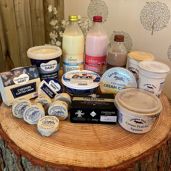 cream cheese and others
